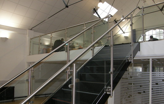 Mezzanine Design Requirements : Magnum group limited staircases handrails